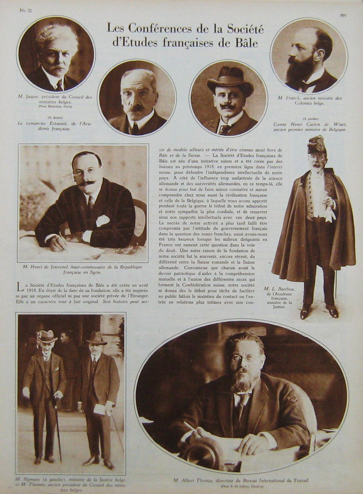 L'Illustré du 12 août 1926