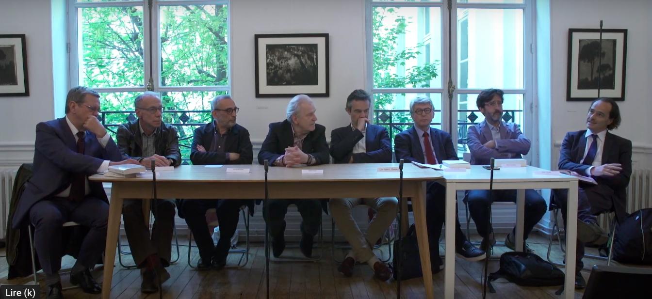 """Rencontres de la Fondation des Treilles : """"Le groupe de la NRF"""""""